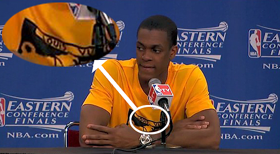 """best sneakers b086d cdca6 In Today's Edition of """"Who Dressed Him?!"""": Rajon Rondo, it's ..."""