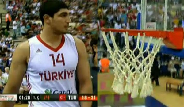 Enes Kanter and the Sportoto World Cup