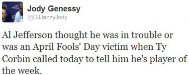 jody al tweet