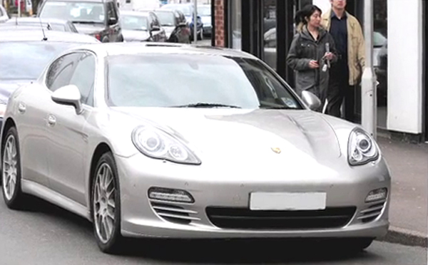 Panamera GT  car - Color: Silver  // Description: beautiful