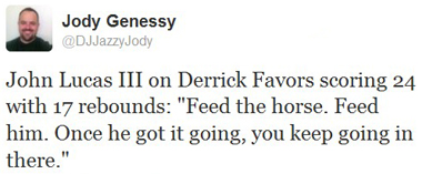 horse tweet