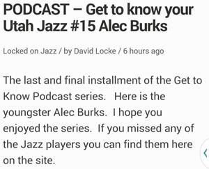 burke podcast
