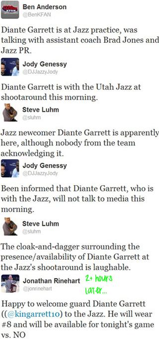 garrett tweets