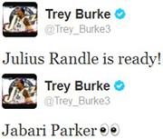trey tweets