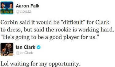 clark tweets