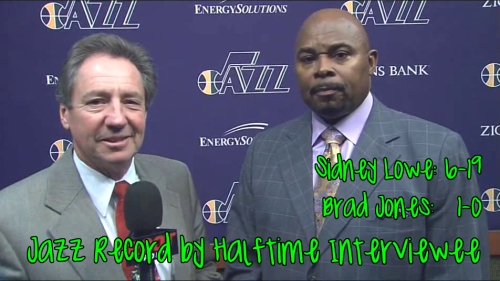 halftime interview