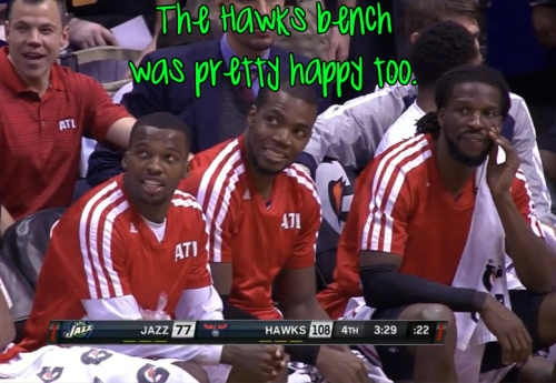 hawks bench