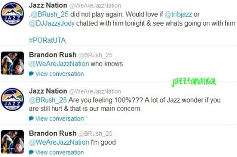 rush tweets