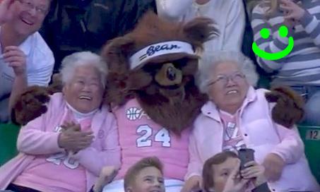 grandmas with bear