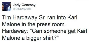hardaway tweet