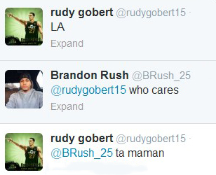 rudy trash talk