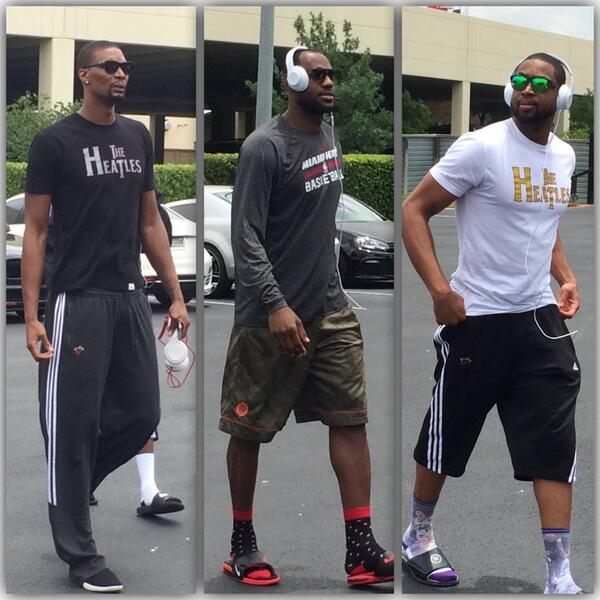 Dwyane Wade Workout: Stockton And Malone Socks, Now With *another* Celeb