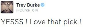 burke tweet hood