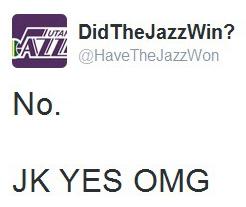did jazz win