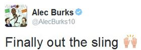burks tweet
