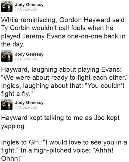 hayward ingles tweets