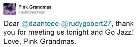 grandmas tweet